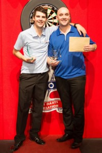 Hughes and Hewson Brit Open Pairs Winners