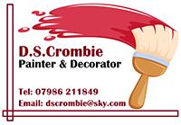 D.S. Crombie Logo