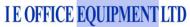 I E Office Equipment Logo